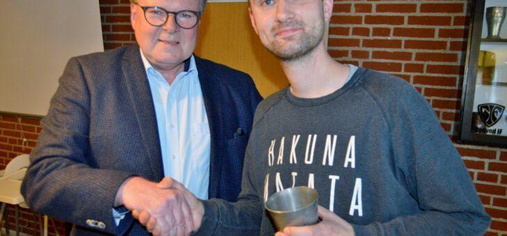 Jakob Falkenberg Hansen afløste Ole Futtup på formandsposten